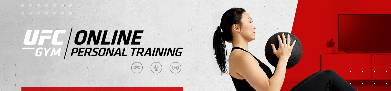 UFC GYM Home Workouts Banner
