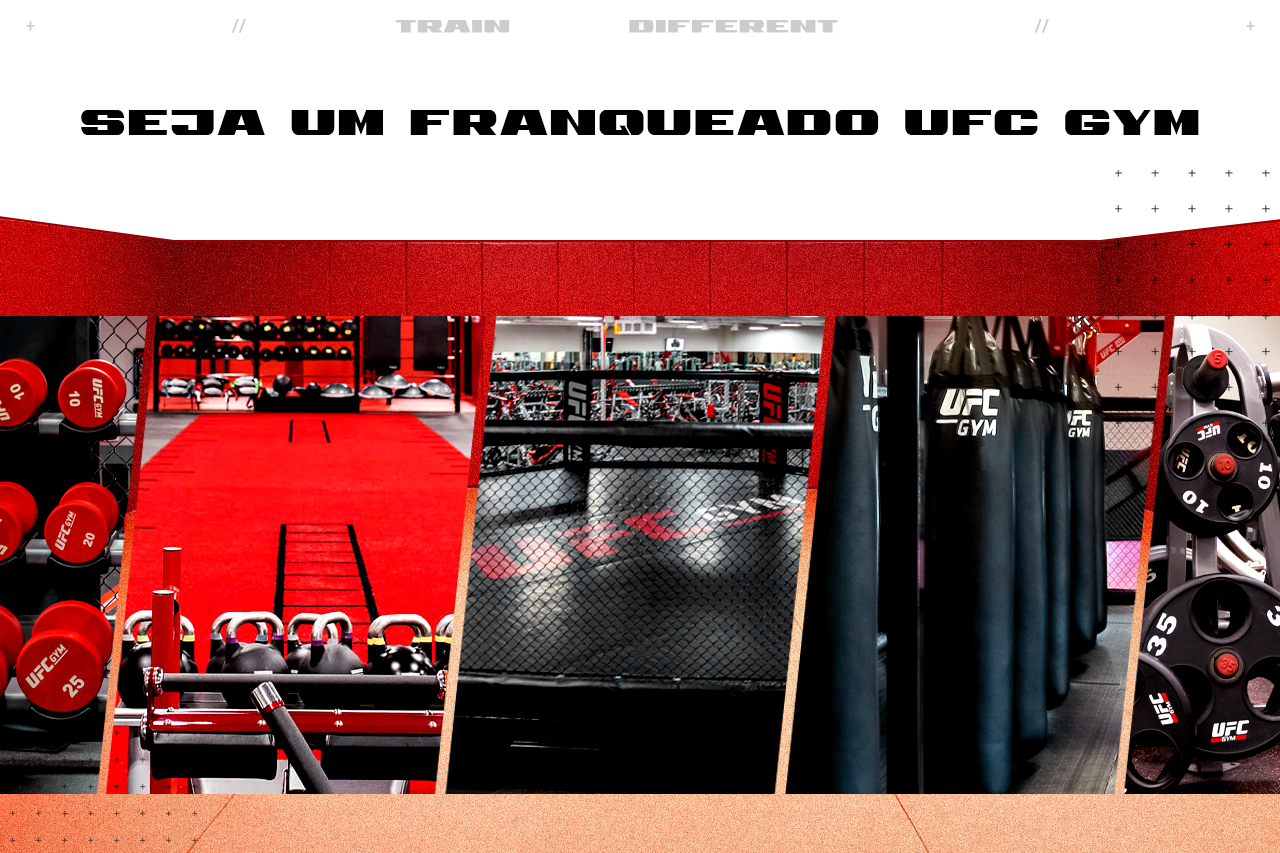 FRANCHISE COM O UFC GYM