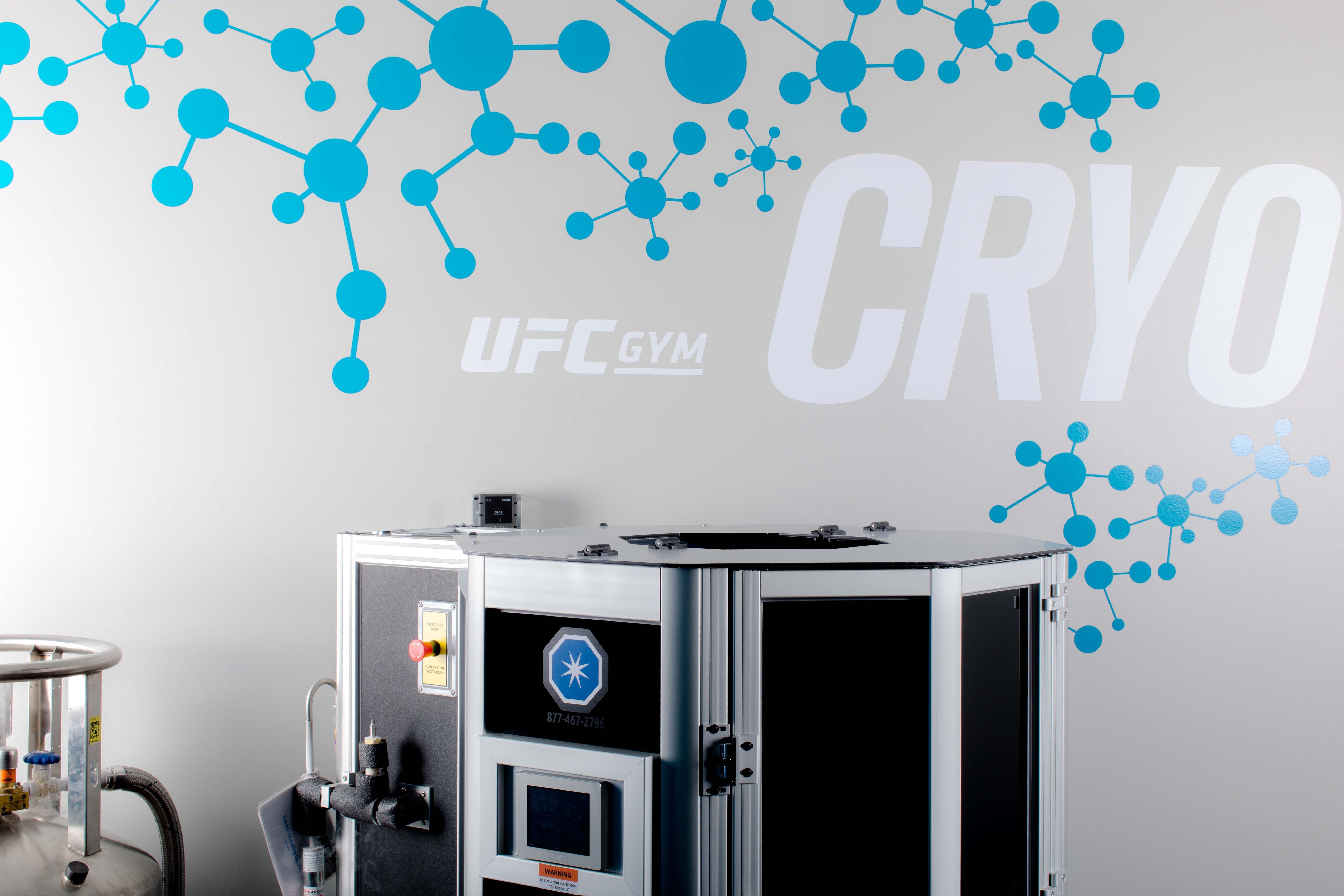 A cryotherapy machine